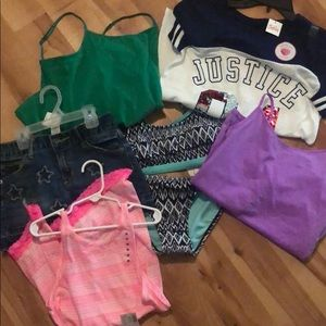 NWT Justice Bundle size 10-14